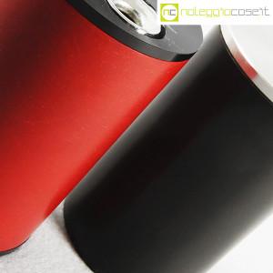 Braun, accendini da tavolo nero e rosso mod. T2, Dieter Rams (6)