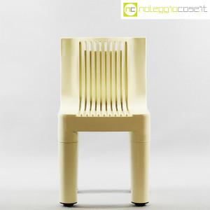 Kartell, sedia per bambini bianca K1340, Marco Zanuso, Richard Sapper (2)