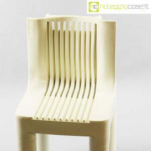 Kartell, sedia per bambini bianca K1340, Marco Zanuso, Richard Sapper (4)