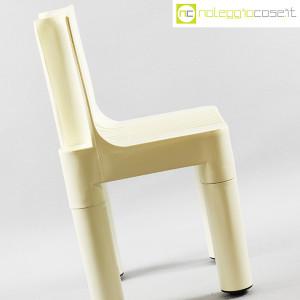 Kartell, sedia per bambini bianca K1340, Marco Zanuso, Richard Sapper (6)