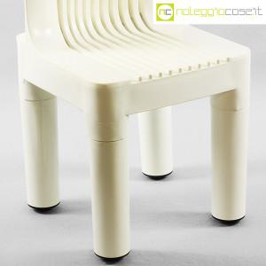 Kartell, sedia per bambini bianca K1340, Marco Zanuso, Richard Sapper (8)