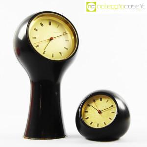 Secticon, orologi da tavolo T1 e T2 nero, Angelo Mangiarotti (1)