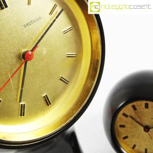Secticon, orologi da tavolo T1 e T2 nero, Angelo Mangiarotti (8)