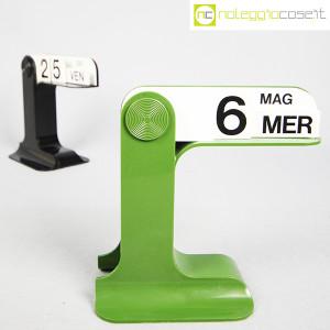 Danese Milano, calendario da tavolo Timor nero o verde, Enzo Mari (4)