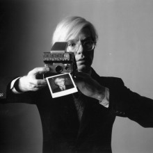 Polaroid SX-70 & A. Warhol