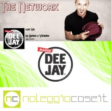 Noleggiocose @Radio Deejay The Network