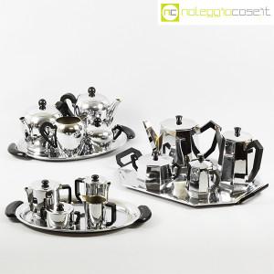 Alfra-Alessi, servizio da tè e caffè Bombè, Carlo Alessi (9)