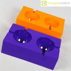 Olivetti, posacenere viola e arancione, Giorgio Soavi (2)