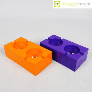 Olivetti, posacenere viola e arancione, Giorgio Soavi (3)