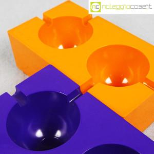 Olivetti, posacenere viola e arancione, Giorgio Soavi (5)