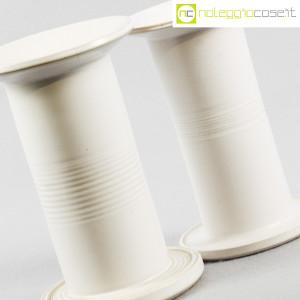 Ceramiche Bucci, vasi colonna bianchi, Franco Bucci (5)