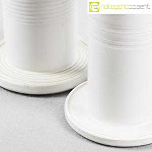 Ceramiche Bucci, vasi colonna bianchi, Franco Bucci (7)