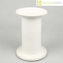 Ceramiche Bucci vaso colonna bianco