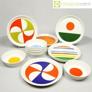 Ceramiche Franco Pozzi, servizio piatti e ciotole, Gio Ponti (1)