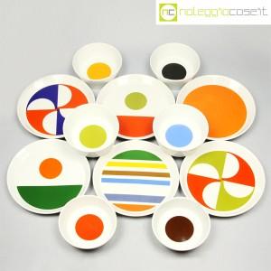Ceramiche Franco Pozzi, servizio piatti e ciotole, Gio Ponti (2)