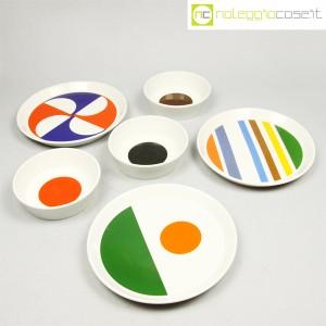 Ceramiche Franco Pozzi, servizio piatti e ciotole, Gio Ponti (3)