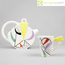 SIC Ceramiche teiera postmodern style