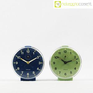 Veglia, orologi da tavolo verde e blu Polaris, Rodolfo Bonetto (2)