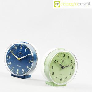 Veglia, orologi da tavolo verde e blu Polaris, Rodolfo Bonetto (3)