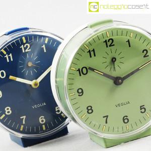 Veglia, orologi da tavolo verde e blu Polaris, Rodolfo Bonetto (5)