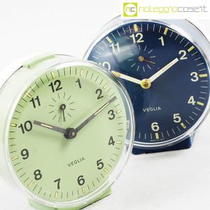 Veglia, orologi da tavolo verde e blu Polaris, Rodolfo Bonetto (6)