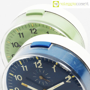 Veglia, orologi da tavolo verde e blu Polaris, Rodolfo Bonetto (8)