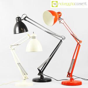 Naska Loris, lampada Naska bianca (Luxo Edit), Jac Jacobsen (9)