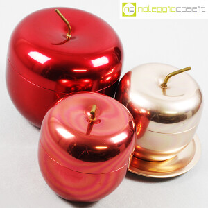 Rinnovel, set portaghiaccio Mela rossi e rosa, Ettore Sottsass (4)