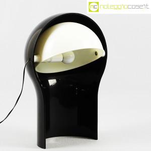 Artemide, lampada Telegono nera, Vico Magistretti (1)