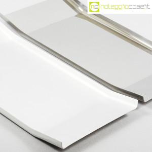 Danese Milano, vassoio Arran inox e alluminio, Enzo Mari (4)