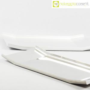 Danese Milano, vassoio Arran inox e alluminio, Enzo Mari (5)