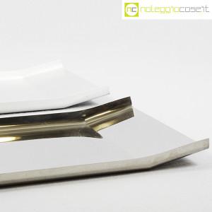 Danese Milano, vassoio Arran inox e alluminio, Enzo Mari (6)
