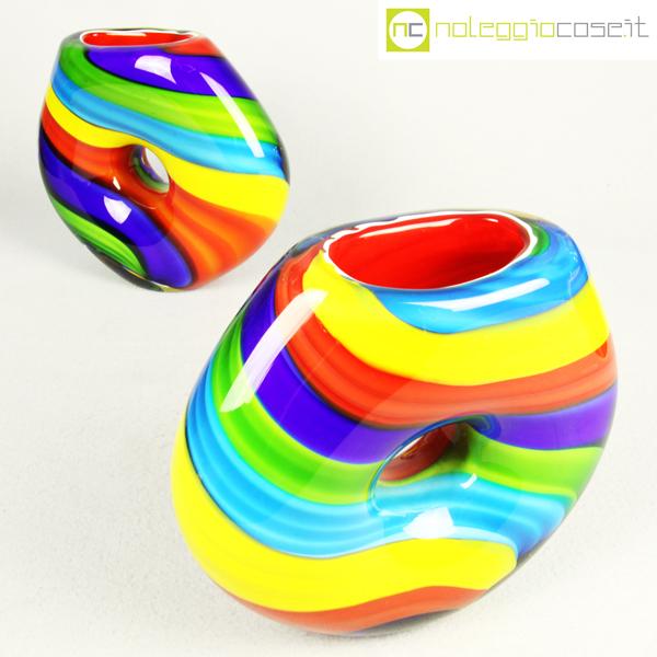 Vasi in vetro di murano colorati for Vasi ermetici vetro