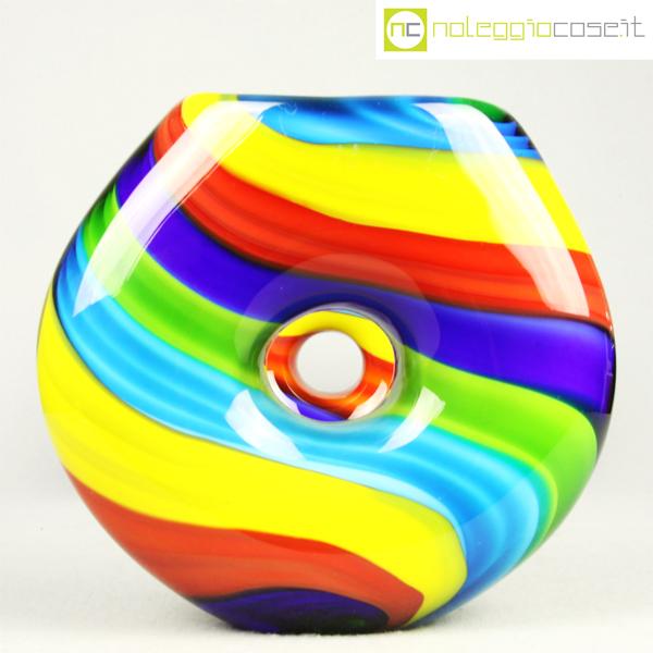 vasi in vetro di murano colorati