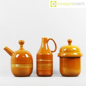 Ceramiche Franco Pozzi, coppia caraffe e contenitore, Ambrogio Pozzi (2)