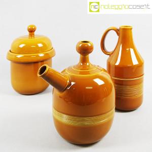 Ceramiche Franco Pozzi, coppia caraffe e contenitore, Ambrogio Pozzi (3)