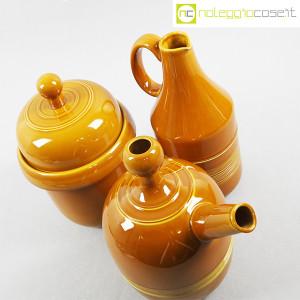 Ceramiche Franco Pozzi, coppia caraffe e contenitore, Ambrogio Pozzi (4)