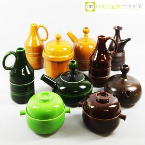 Ceramiche Franco Pozzi, coppia caraffe e contenitore, Ambrogio Pozzi (9)