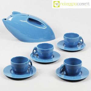 Pagnossin Ceramiche, Set da tè con teiera e tazze, Giugiaro Design (1)