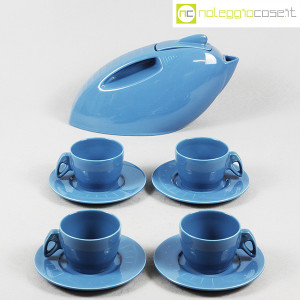 Pagnossin Ceramiche, Set da tè con teiera e tazze, Giugiaro Design (2)