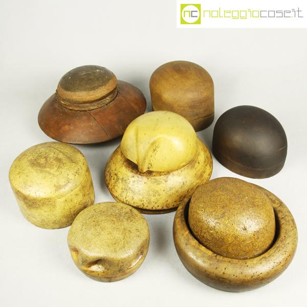 Forme per cappelli legno