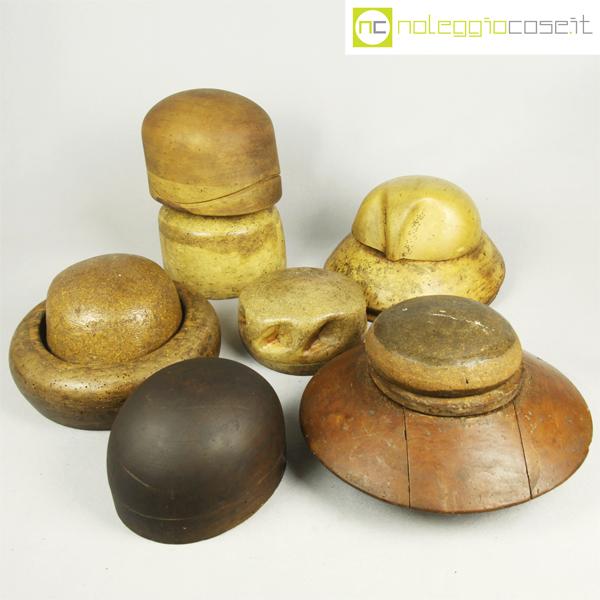 nuovo stile di vita gamma completa di articoli classcic Forme per cappelli in legno Set 1