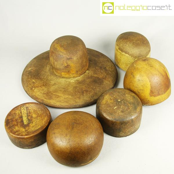 nuovi oggetti modelli alla moda risparmi fantastici Forme per cappelli in legno Set 3
