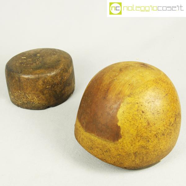 Forme per cappelli in legno Set 3 3395e6b778ee