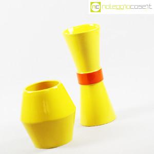 Rometti, coppia vasi gialli (3)