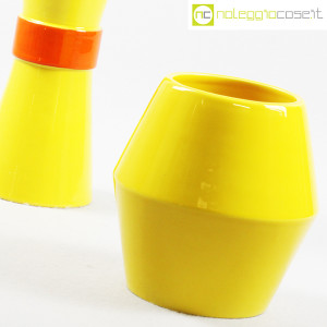 Rometti, coppia vasi gialli (5)