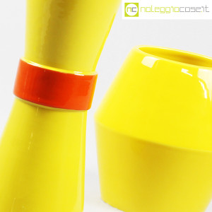 Rometti, coppia vasi gialli (7)