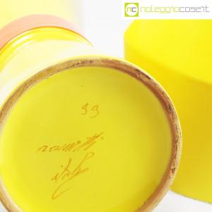 Rometti, coppia vasi gialli (9)