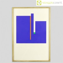 Bruno Munari Negativo-Positivo blu