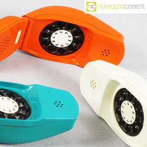 Auso Siemens, telefono Grillo turchese, bianco e arancione, Marco Zanuso (7)